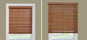 Wooden blinds 2 inches